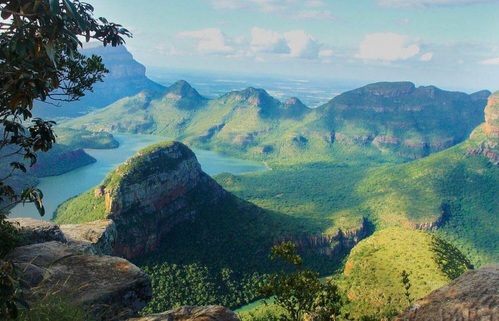südafrika: blyderiver canyon