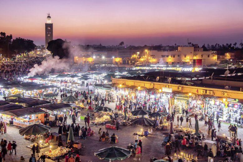 Marrakesh Djemaa el Fna - Platz der Gaukler