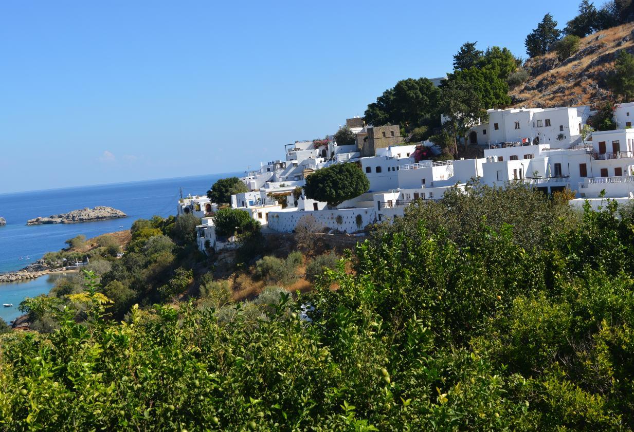 Griechenland Corona Rhodos